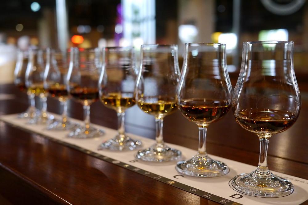 Kavalan Distillery Whisky Tasting Taiwan