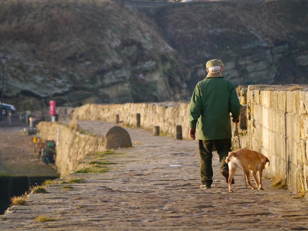 Walking the Dog, St Andrews, Scotland
