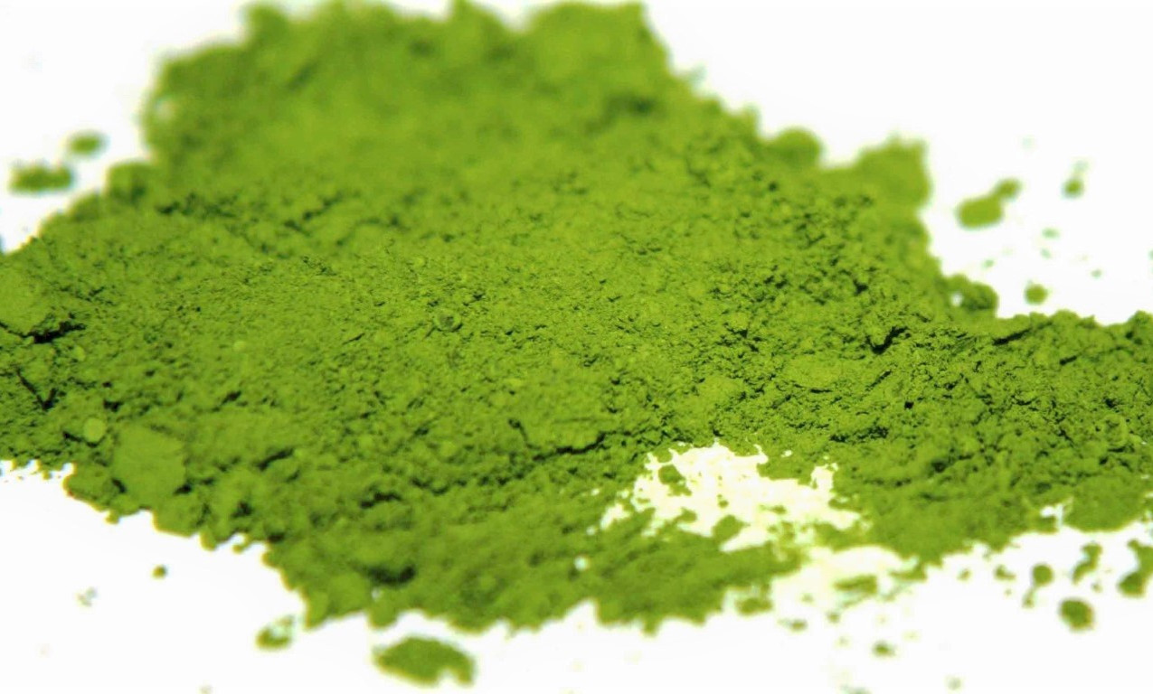 No, it's not matcha! More antioxidants and a great way to wake up AND relax. Mmm!