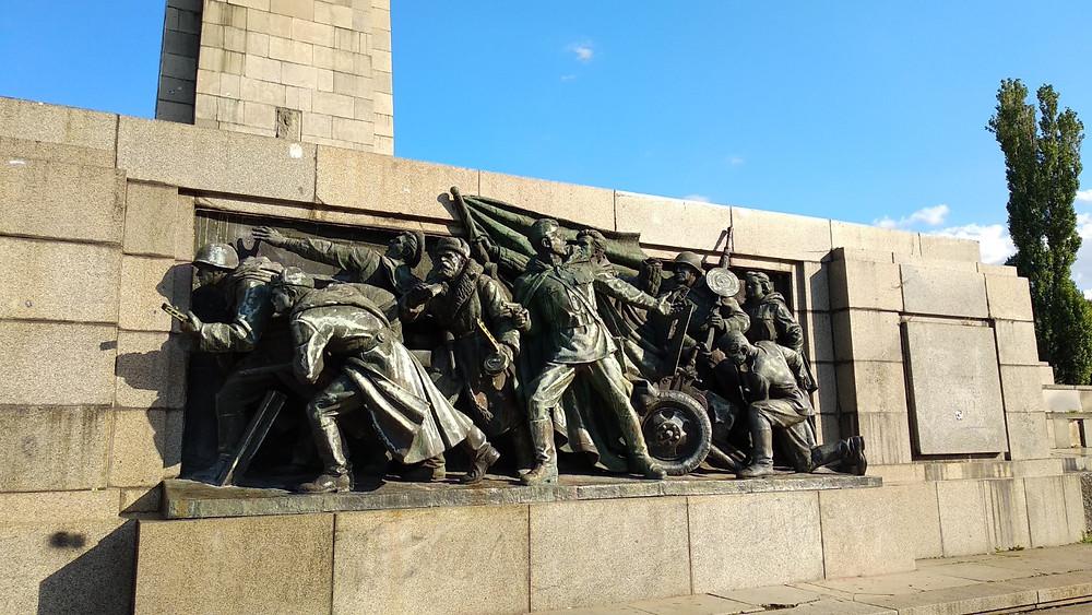 Monument to the Soviet Army Sofia Bulgaria