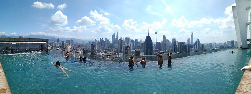 Regalia Suites Kuala Lumpur rooftop pool