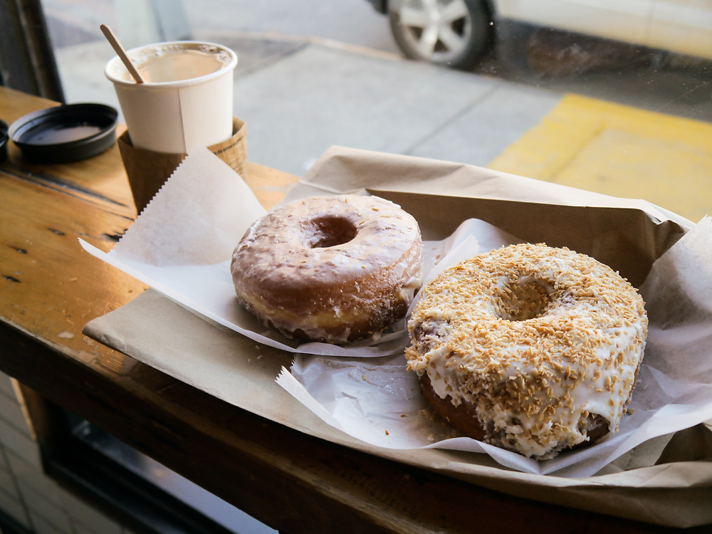 American Version of Tea (aka Coffee + donuts)
