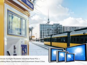 Cincoze Sunlight-Readable Industrial Panel PCs