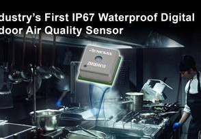 Water and Dustproof Air Quality Sensors