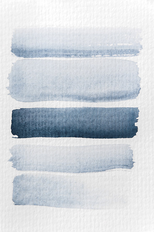 AQUARELLE MEETS PENCIL STRIPES