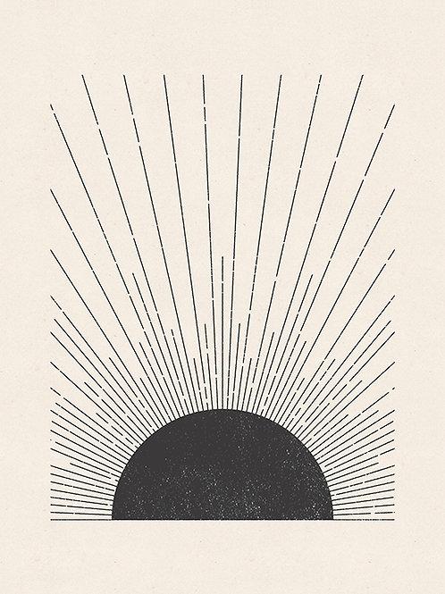 WOODBLOCK THE SUN