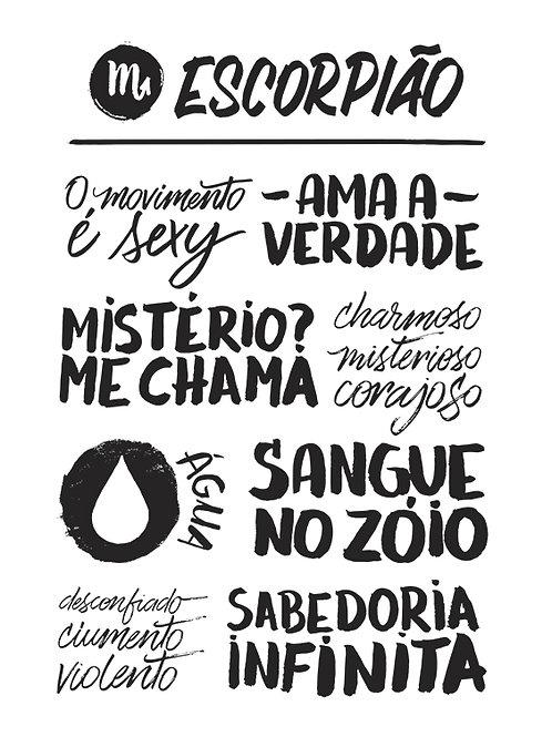 SIGNOS ESCORPIÃO