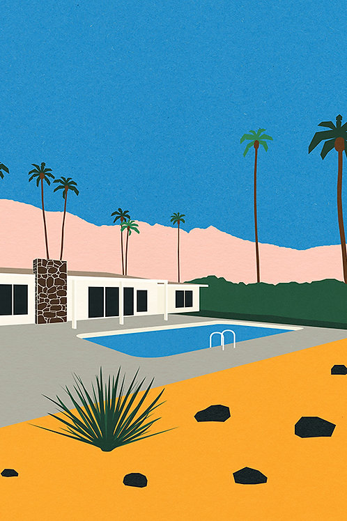 PALM SPRINGS BUNGALOW