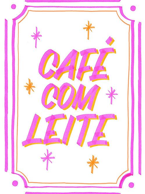 PADOCA CAFÉ COM LEITE