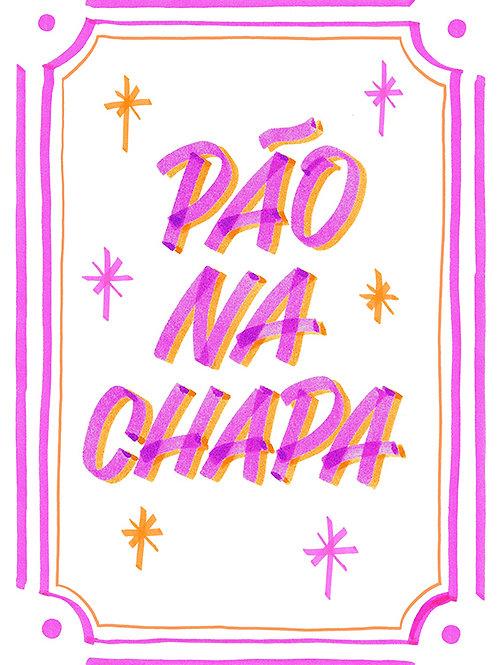 PADOCA PÃO NA CHAPA