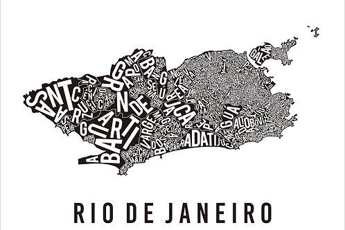 MAPA TIPOGRÁFICO RIO BRANCO