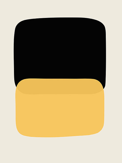 BLACK AND YELLOW COMPOSITION
