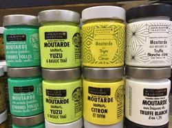 Notre gamme de moutarde