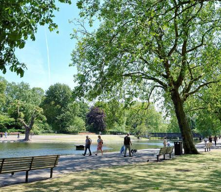 Los parques para nuestra salud mental