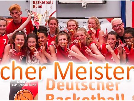 WU14 der SG Darmstadt/Roßdorf sind Deutscher Meister