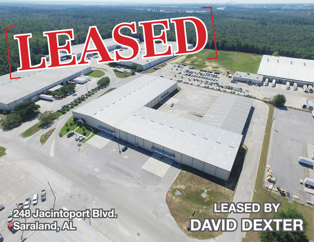 86,250 SF Leased in Saraland