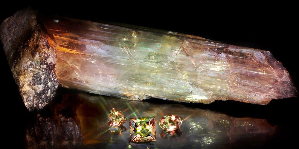 impressive zultanite rare gemstone