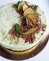 Hello Spring! 💛🌱Lime&mint moussecake w