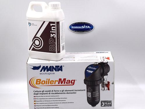 Kit Defangatore Boiler Mag e prodotto per pulizia impianto di riscaldamento