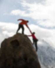 Juntos no topo