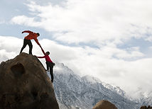 Sammen på toppen