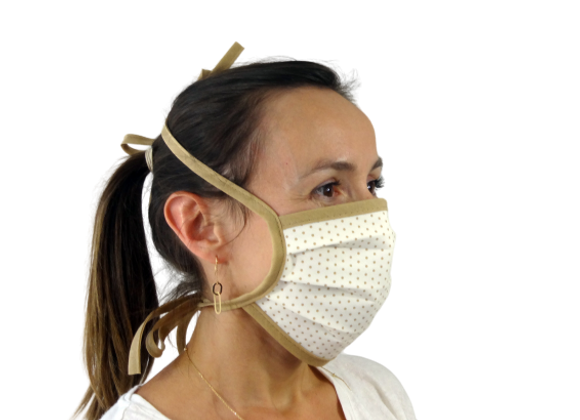 5 Masques Grand Public Pois