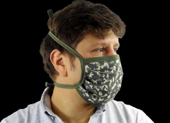 5 Masques Grand Public Militaire