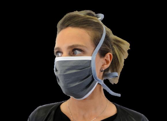5 Masques Grand Public attaches lavandes