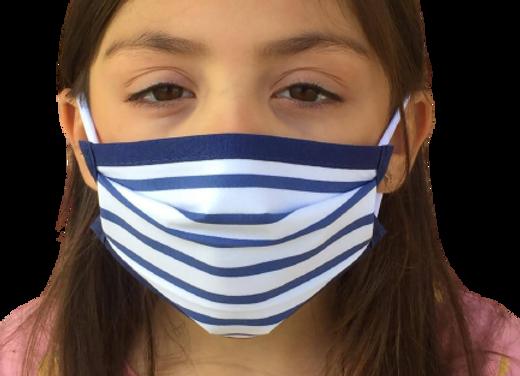 5 Masques enfants (6 à 11 ans) élastiques