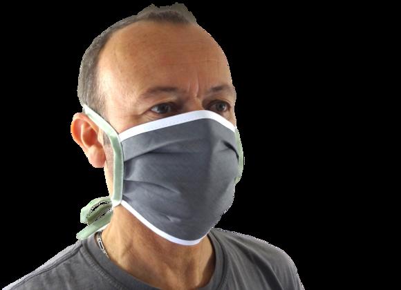 5 Masques Grand Public attaches anis