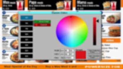 ElectroMenu Custom Color Pallet Creator
