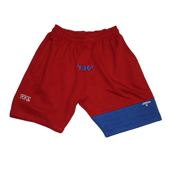 Y:20² Sweat Shorts Red