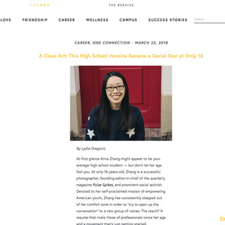 Anna Zhang Bumble One Connection Career Story