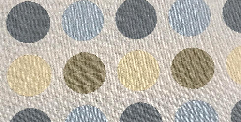 Blue and Yellow Polka Dots