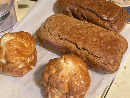 Don't worry that it tastes good - it is gluten free - 3 easy to make Gluten Free Breads