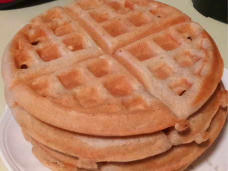 Try it Thursday - Homemade waffles