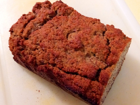 Try it Tuesday - Gluten free Almond flour, Flaxseed, applesauce bread