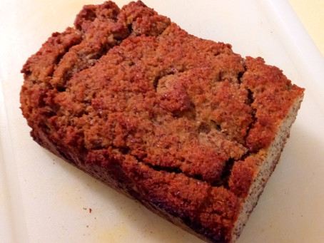 Try it Tuesday - Gluten free Almond flour, Flaxseed, applesauce bread