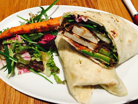 Wing it Wednesday - Flaxseed meal tortillas