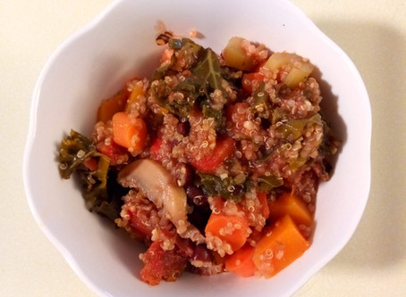 Make it Monday - Quinoa vegetable soup