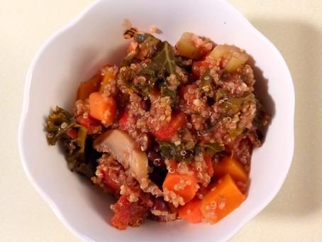 Make it Monday - Quinoa vegetable soup