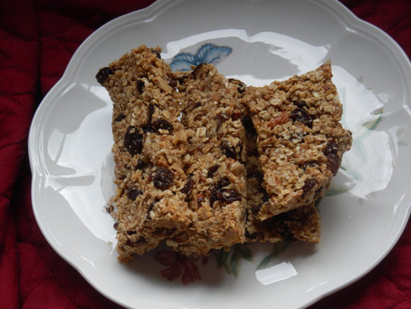 Make it Monday - Granola bars gluten free