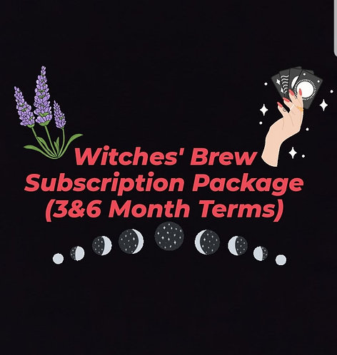 Witches' Brew Subscription Package