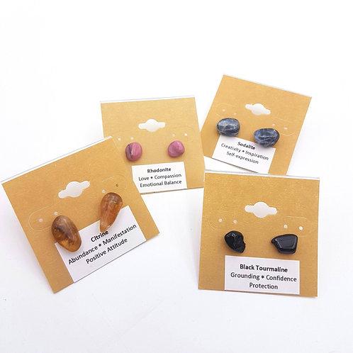 Gemstone Studs