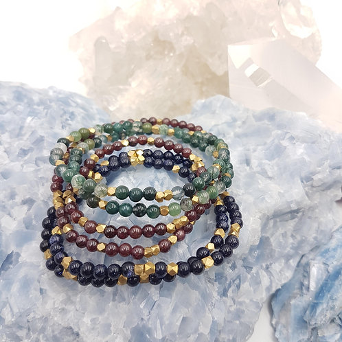 The Oya Collection - Double Wrap Triple Stack