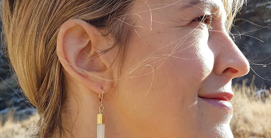 Selenite Earrings