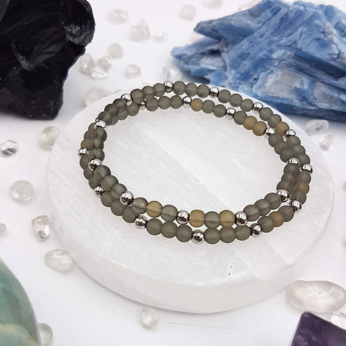 One to Zen Double Wrap Bracelet