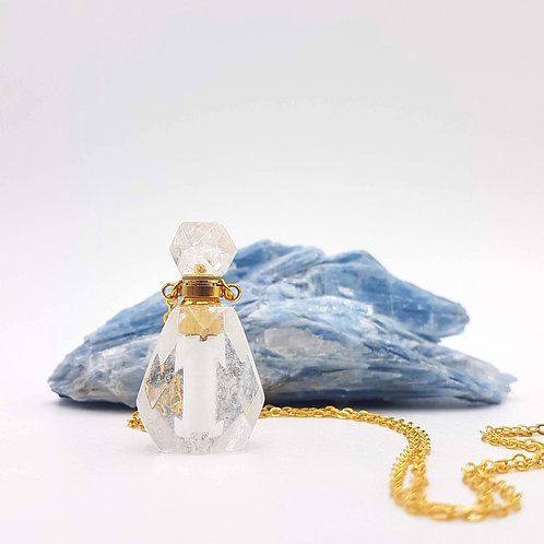 Clear Intentions Vial Necklace