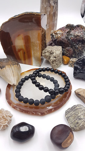Steadfast and Strong Mala Bracelet