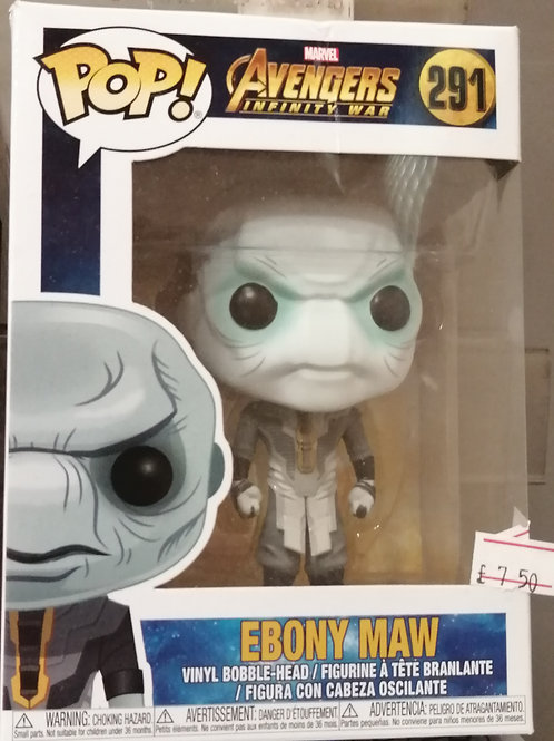 Ebony Maw Funko Pop